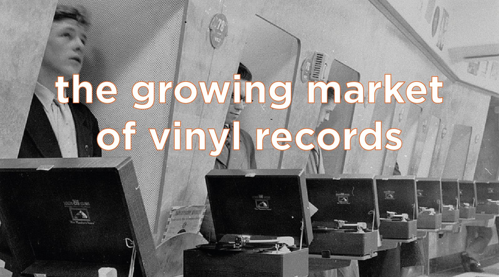 The growing market of vinyl records