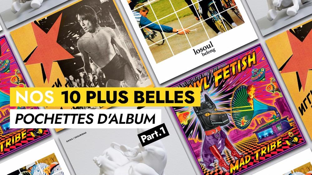 Nos 10 plus belles pochettes d'album (Part ½)