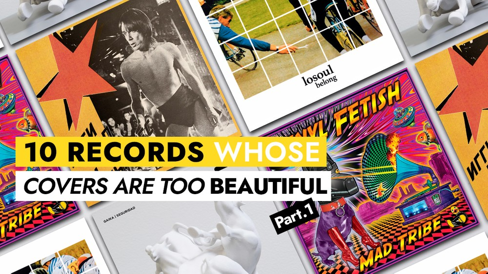 10 records whose covers are too beautiful (Part.1)