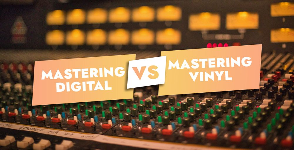 What is the difference between digital and vinyl mastering ?