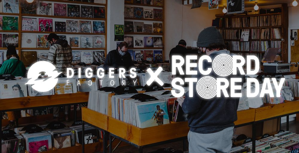 DIGGERS FACTORY is getting ready for RECORD STORE DAY!