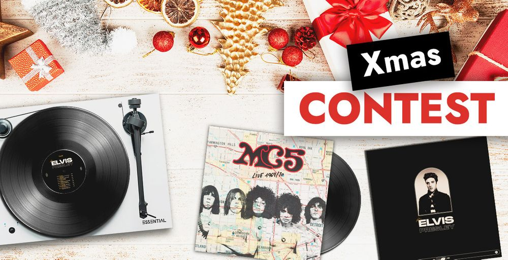 A turntable and subscriptions to our Vinyl Box to win!