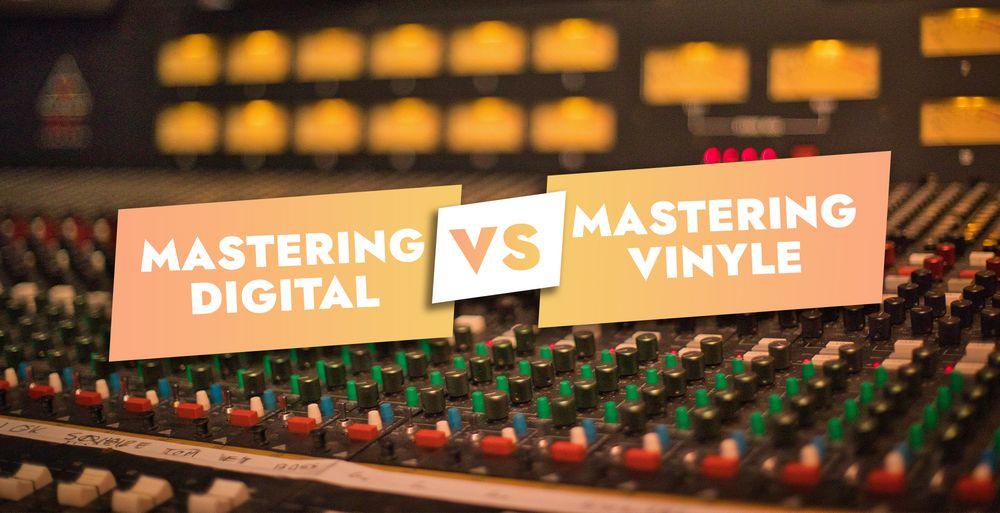 Quelle est la différence entre mastering digital & mastering vinyle ?