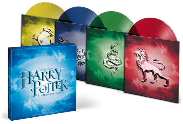 Box Set The Complete Harry Potter Film Music Collection - The City Of Prague Philharmonic Orchestra
