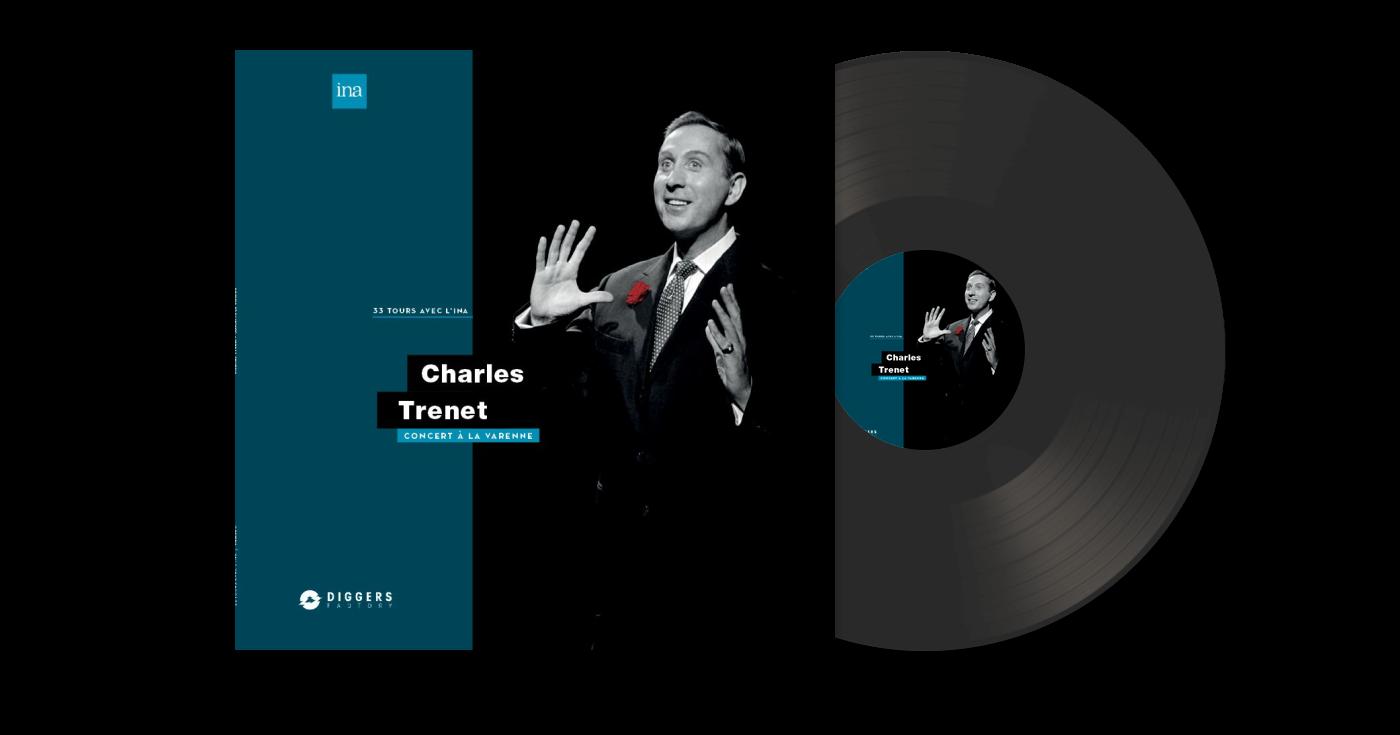 Charles Trénet Concert à la Varenne Vinyle
