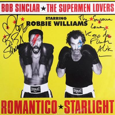 Bob Sinclar x The Supermen Lovers x ROBBIE WILLIAMS - ROMANTICO STARLIGHT