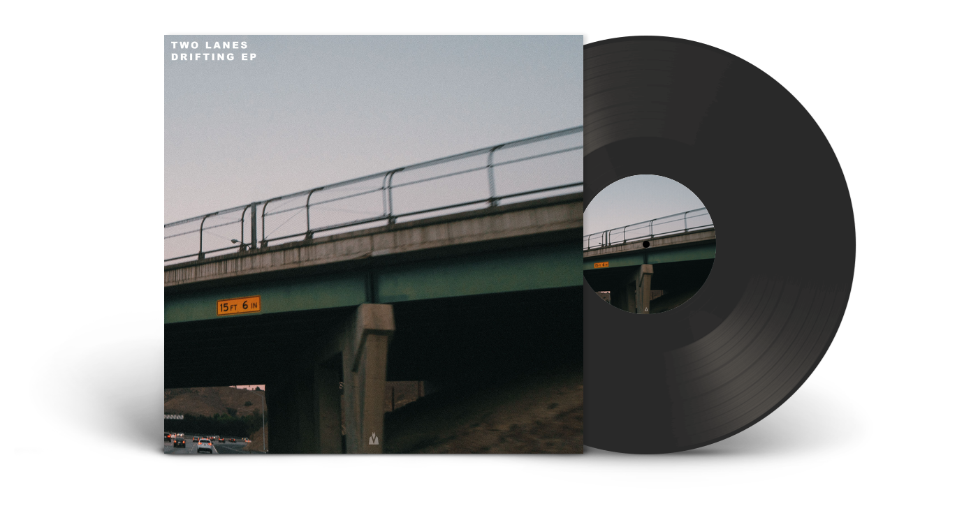 Two Lanes Drifting EP Vinyl