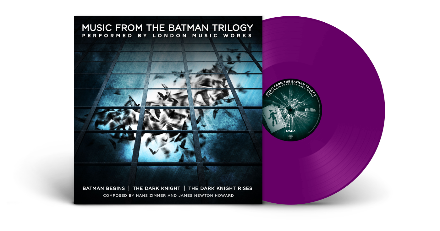 msuic from batman trilogy on vinyl