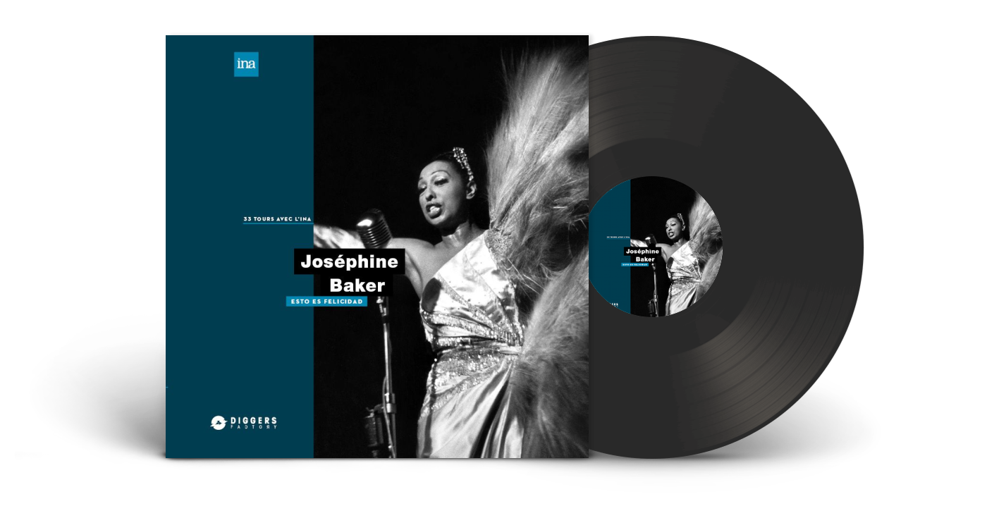 Josephine Baker Esto Es Felicidad LP