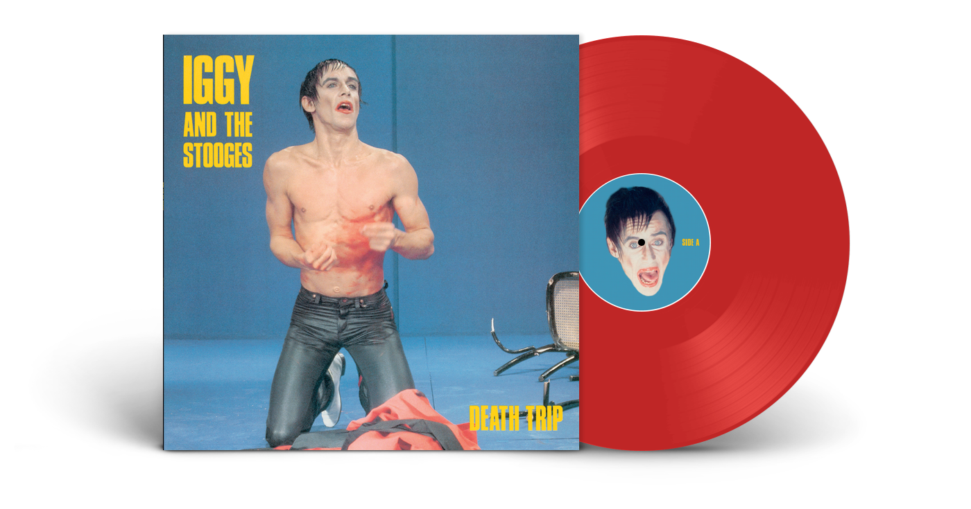 Iggy Pop & The Stooges - Death Trip LP