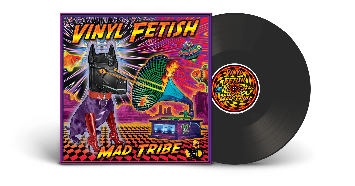 mad tribe vinyl fetish