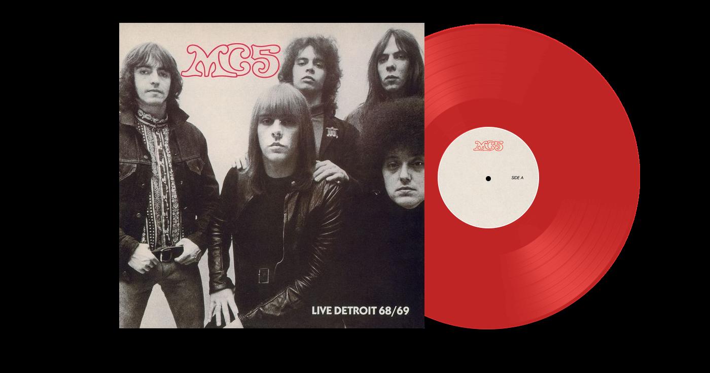 MC5 - Live Detroit 68 / 69 LP
