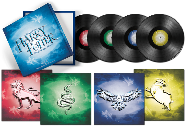 Box Set The Complete Harry Potter Film Music Collection - The City Of Prague Philharmonic Orchestra - Limited Edition Vinyl