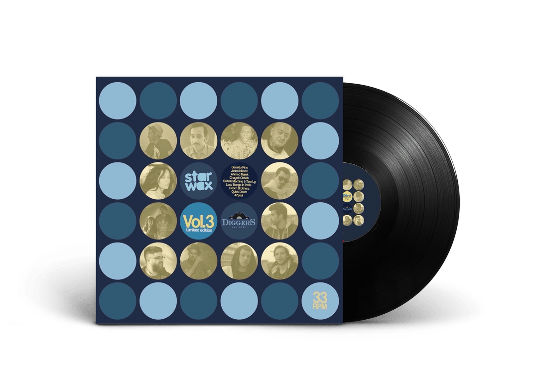 Star Wax x Diggers Factory Vol.3: Pre-order limited edition vinyl on Diggers Factory.