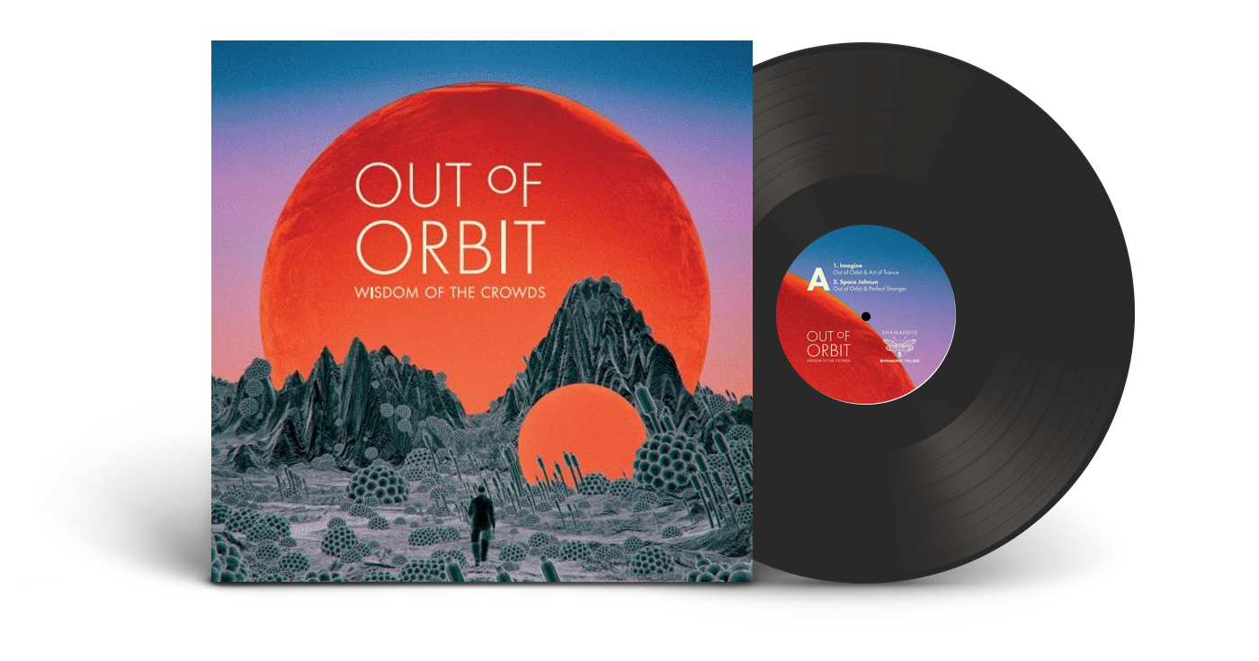 Wisdom Of The Crowds Out Of Orbit Limited Edition Vinyl Diggers Factory