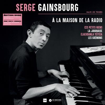 Serge Gainsbourg - À la maison de la radio Édition Rose